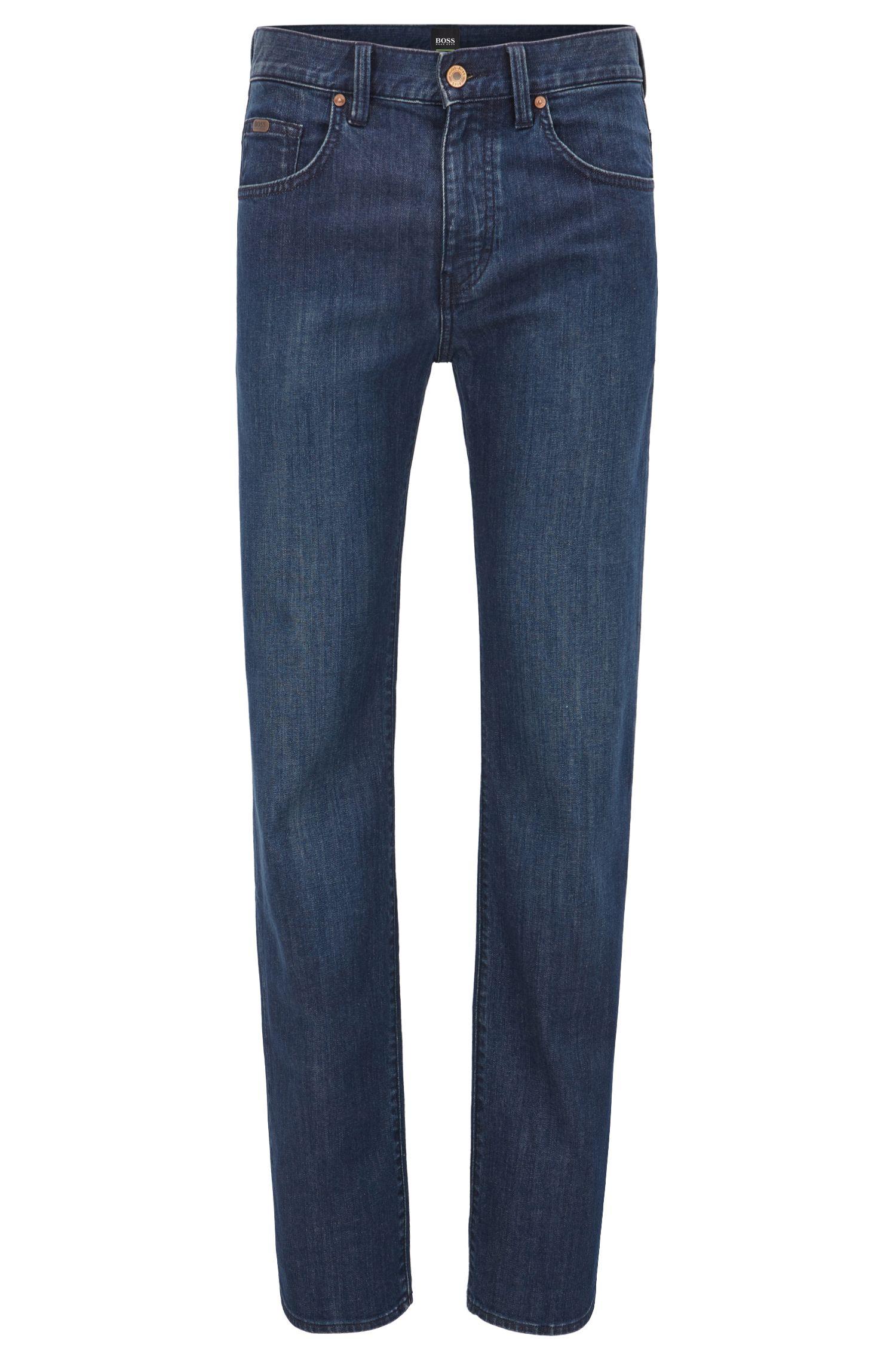 Jeans Relaxed Fit en denim stretch à jambes droites