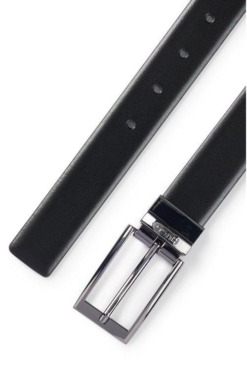 Hugo Boss - Wendegürtel aus Glattleder mit Metall-Schließe - 4