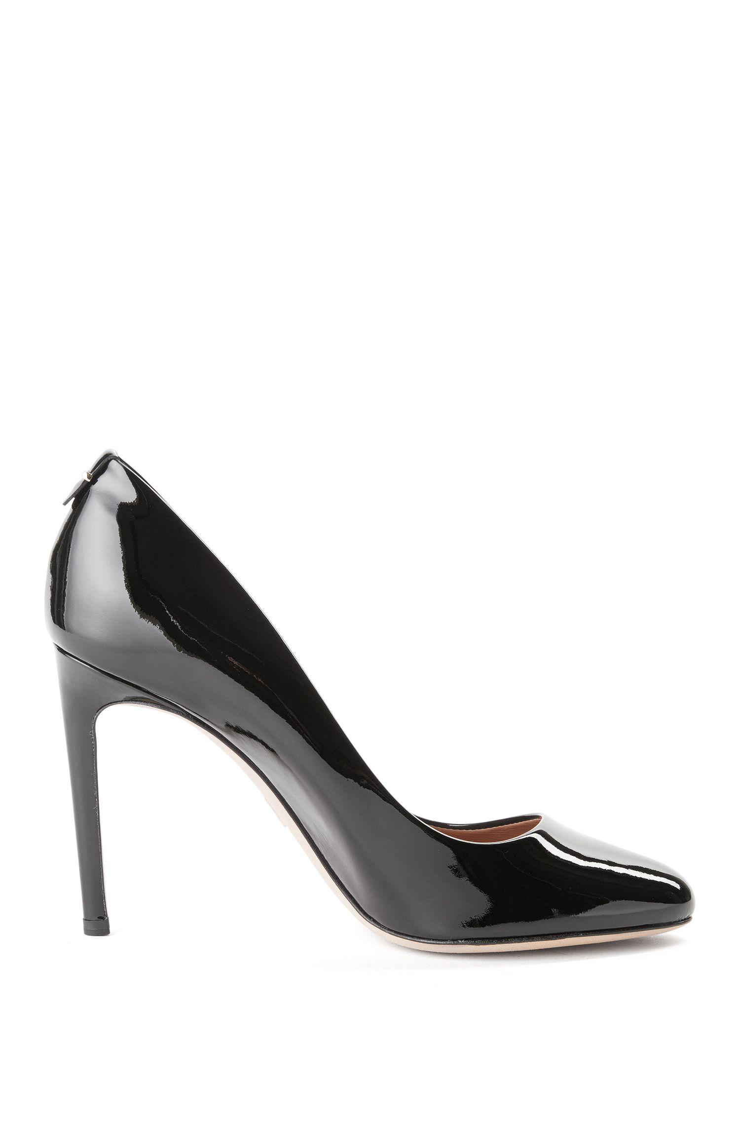 Leather pumps with a kitten heel: 'Staple R100-P'