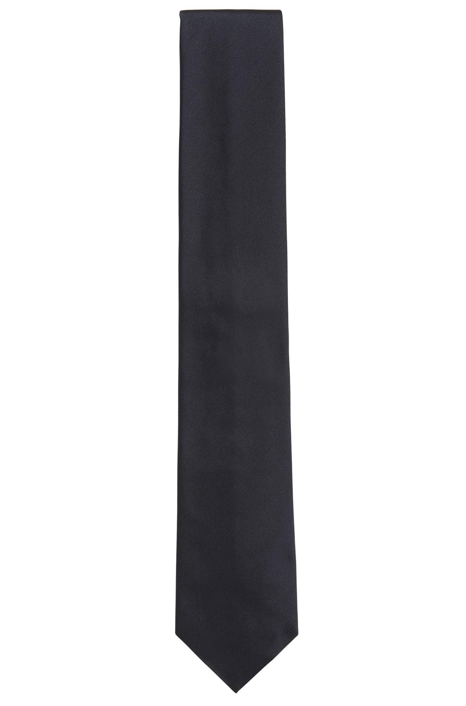 Corbata elaborada en Italia en pura seda, Gris