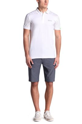 Golf-Polo aus Baumwoll-Mix: ´Paddy MK 2`, Weiß