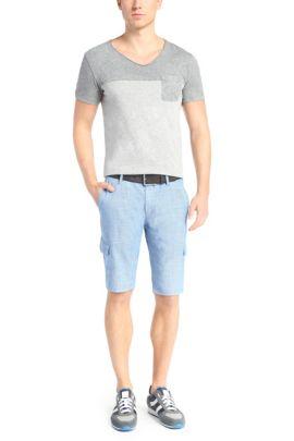 Regular-Fit Shorts mit Textur: ´Schwinn4-Shorts-W`, Blau