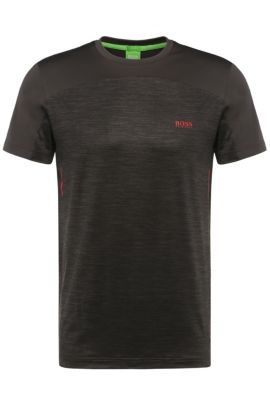 T-shirt à col rond : « Tianotech », Anthracite
