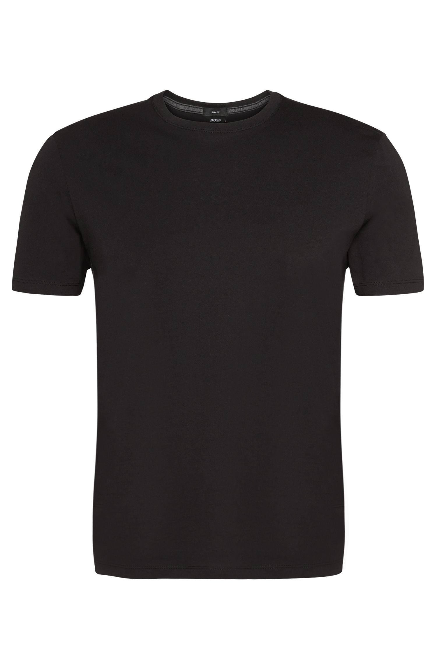 T-shirt Slim-Fit in cotone: 'Tessler 09'