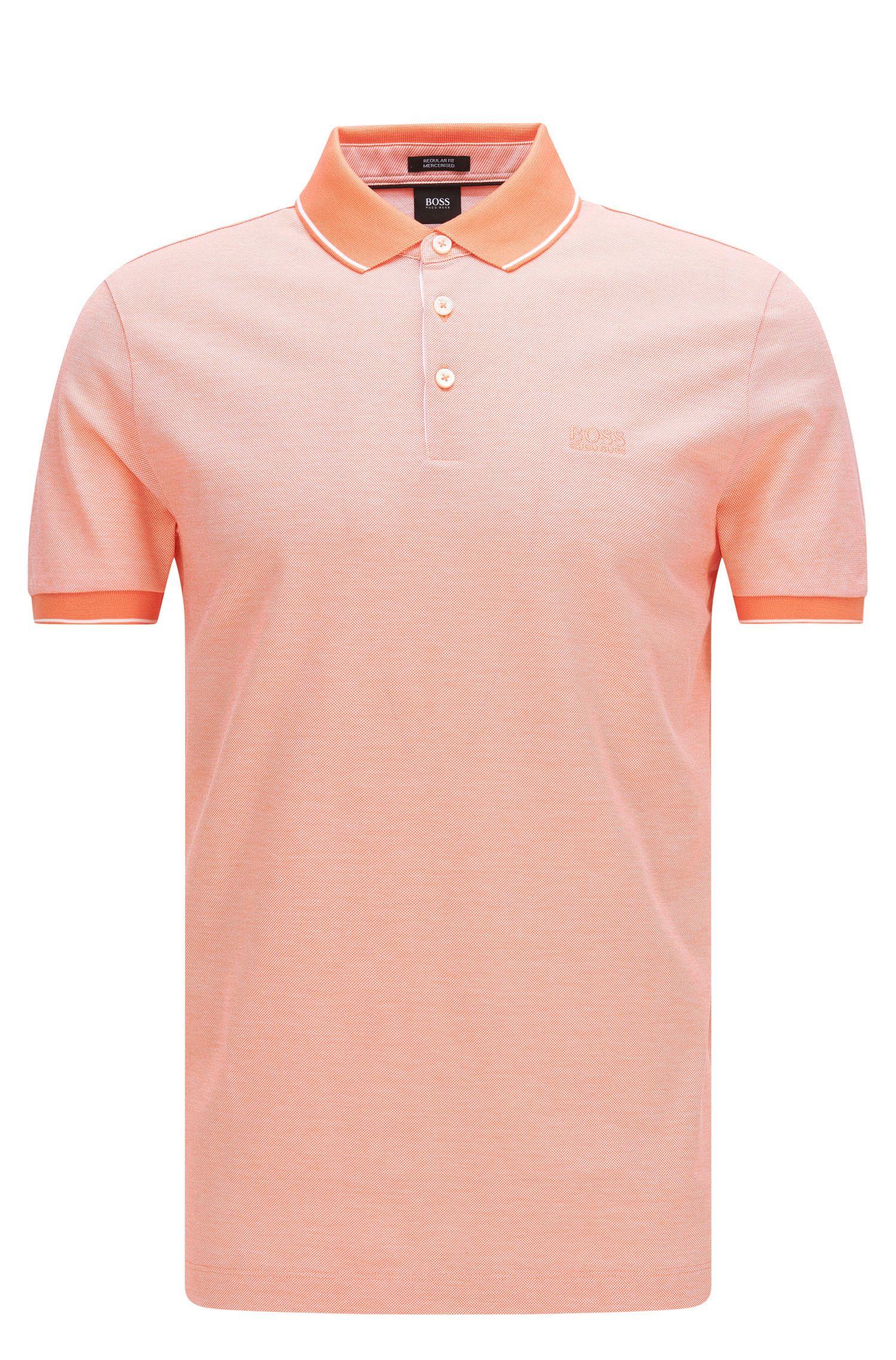 Regular-Fit Poloshirt aus veredelter Baumwolle: 'Prout 01'