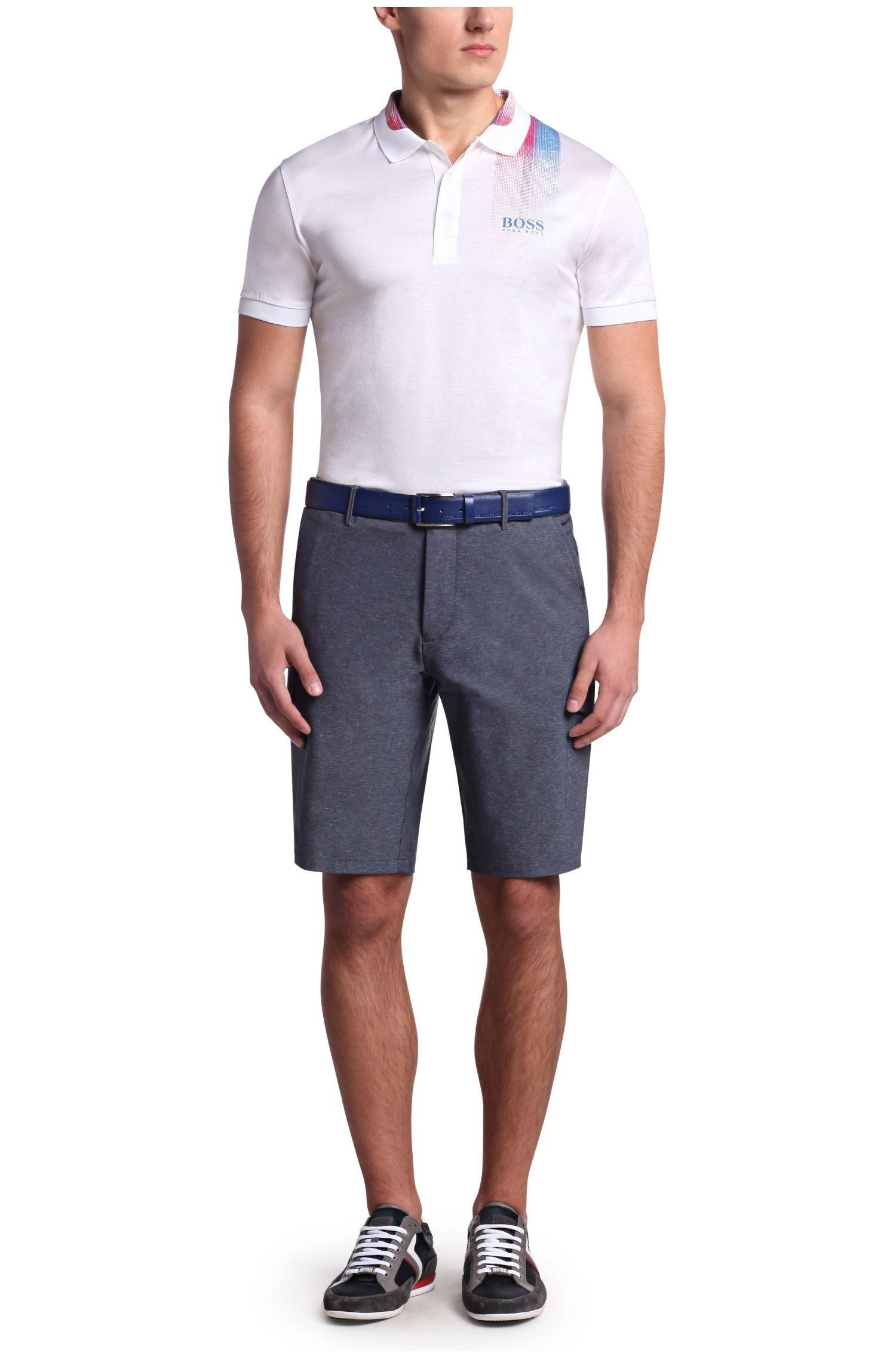 Regular-fit golfshort: 'Hiem'