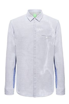 Regular-Fit Freizeit-Hemd: ´Bawort`, Hellblau
