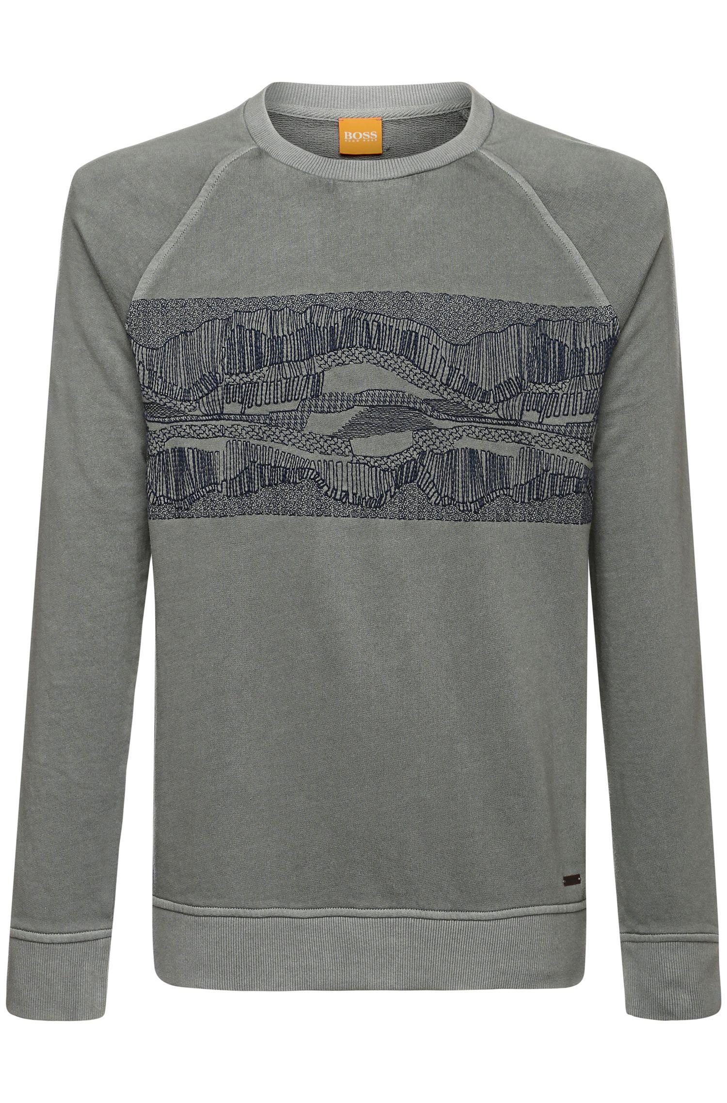 Sweatshirt aus Baumwoll-Mix: ´Whyoming`