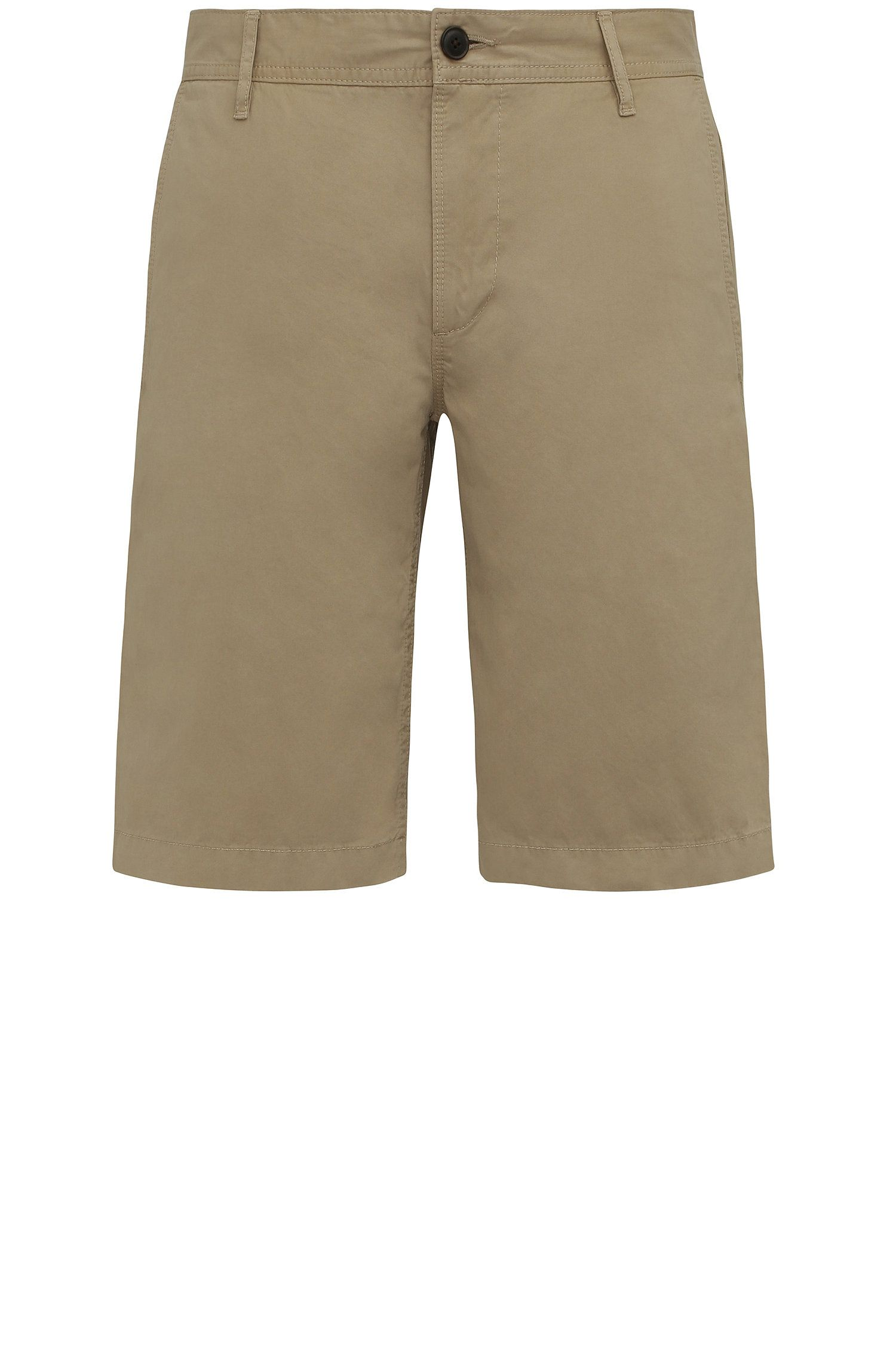 Pantaloncini corti regular fit in cotone: 'Schino-Regular-Short'