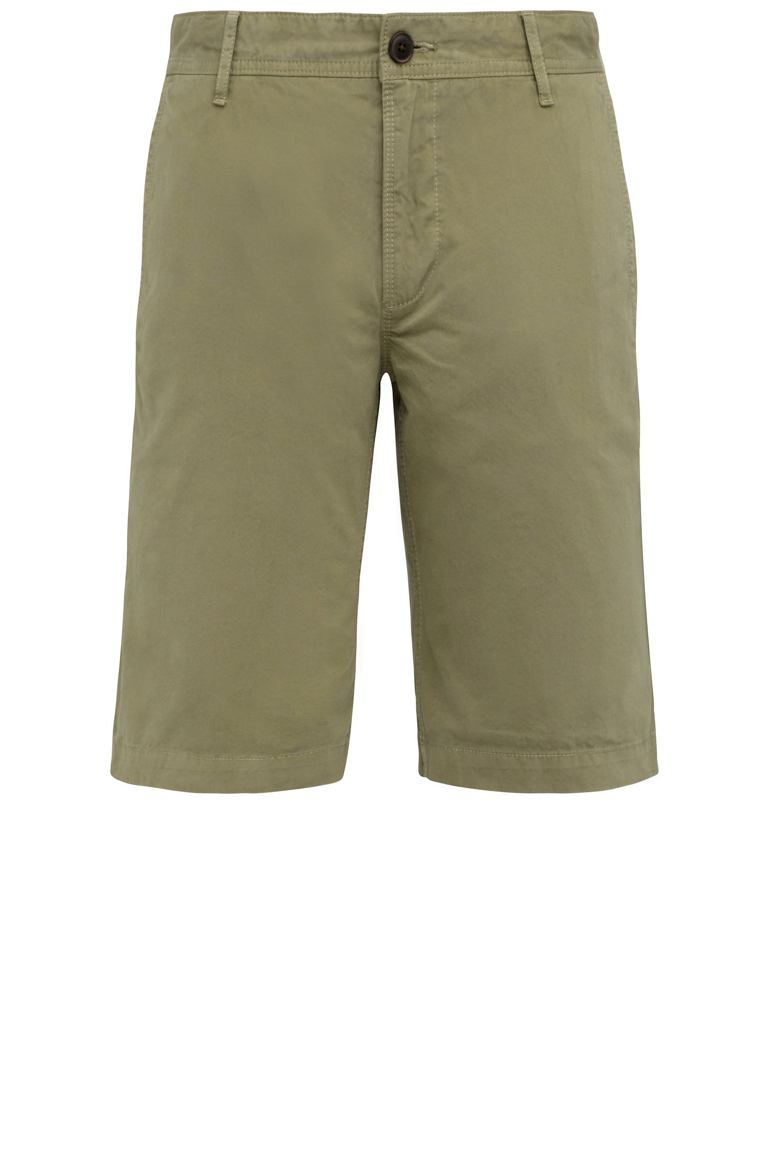 Regular-fit cotton shorts: 'Schino-Regular-Short'