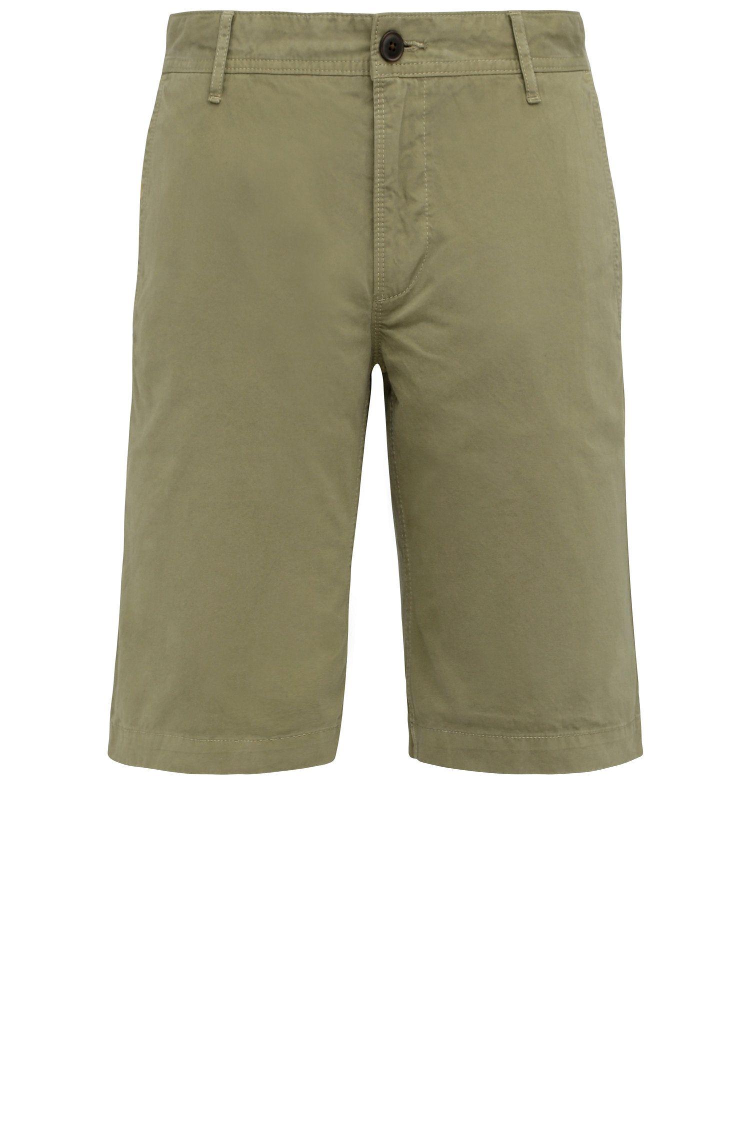 Pantaloncini corti regular fit in cotone: 'Schino-Regular-Short'