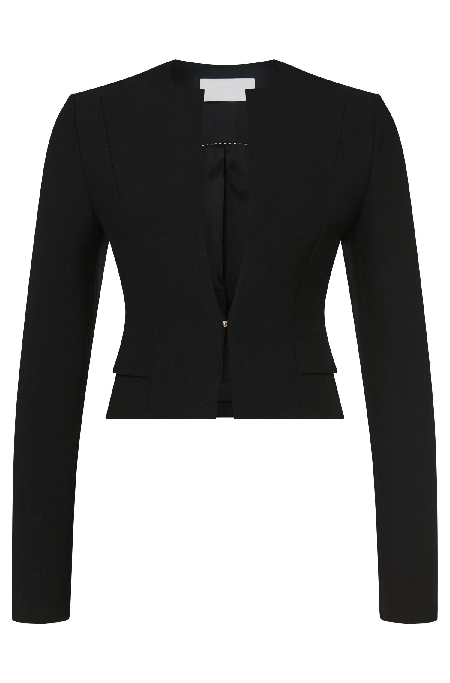 Short blazer with viscose and cotton: 'Jiopela'