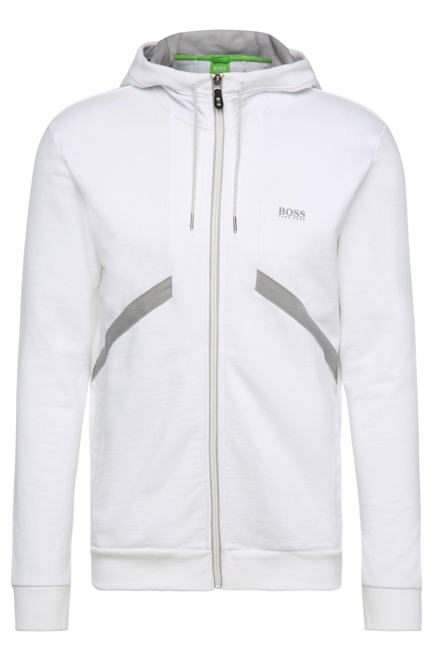 Kapuzen-Sweatshirt-Jacke aus Baumwolle ´Saggy 1`