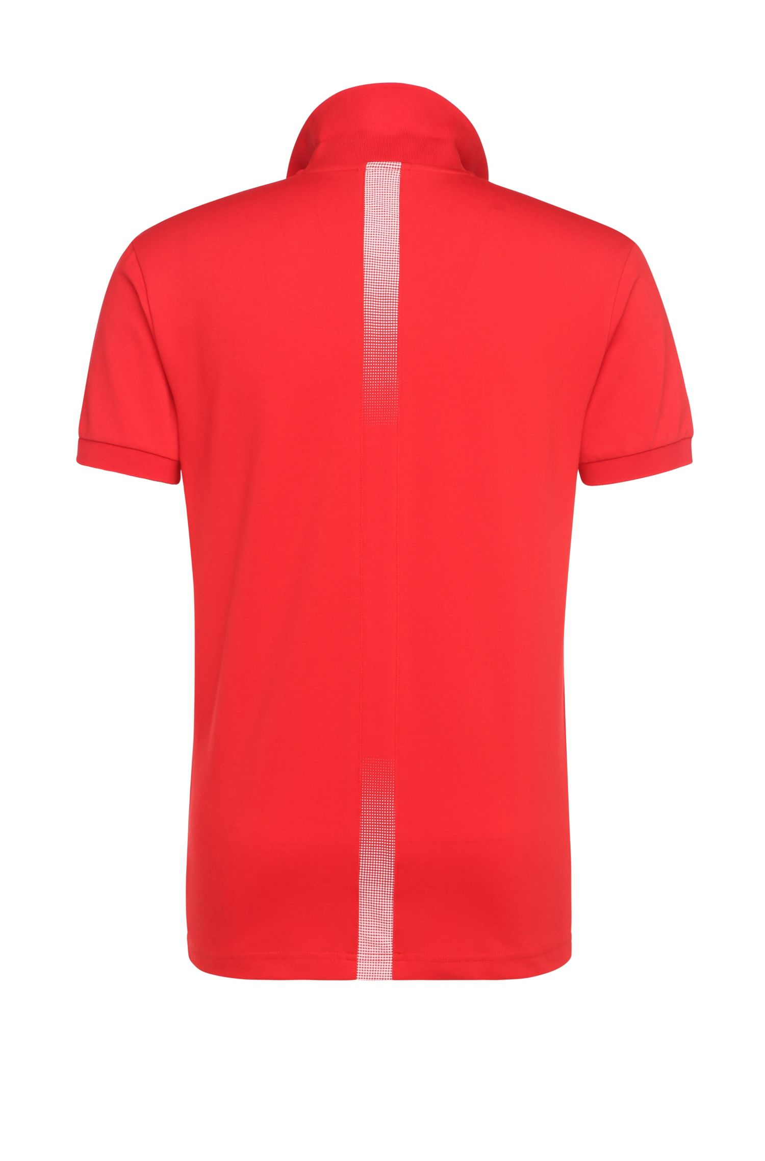 Golf polo shirt in cotton blend: 'Paule Flag'
