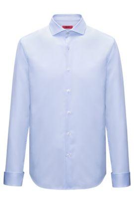 Chemise de soirée Slim Fit en coton, Bleu vif
