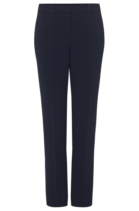 Relaxed-fit trousers: 'Tiluna1', Dark Blue