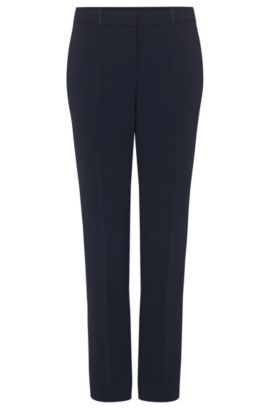 Relaxed-fit trousers: 'Tiluna1', Open Blue