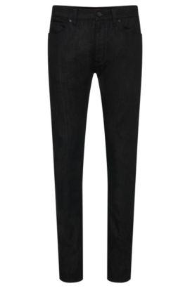 Jeans Extra Slim Fit en coton stretch: «HUGO734», Noir