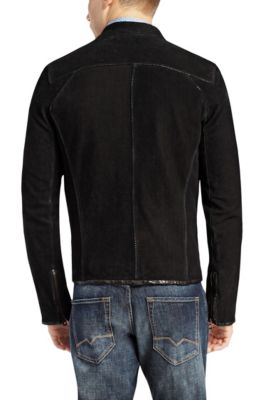 b6e058b77ee9b Leather jackets for men by HUGO BOSS