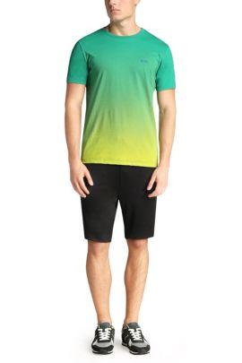 T-shirt imprimé en coton: «Tee Flag2», Vert