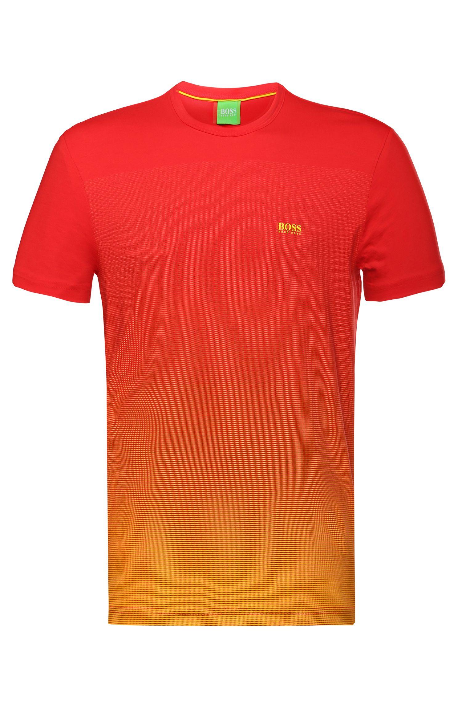 T-shirt imprimé en coton: «Tee Flag2»