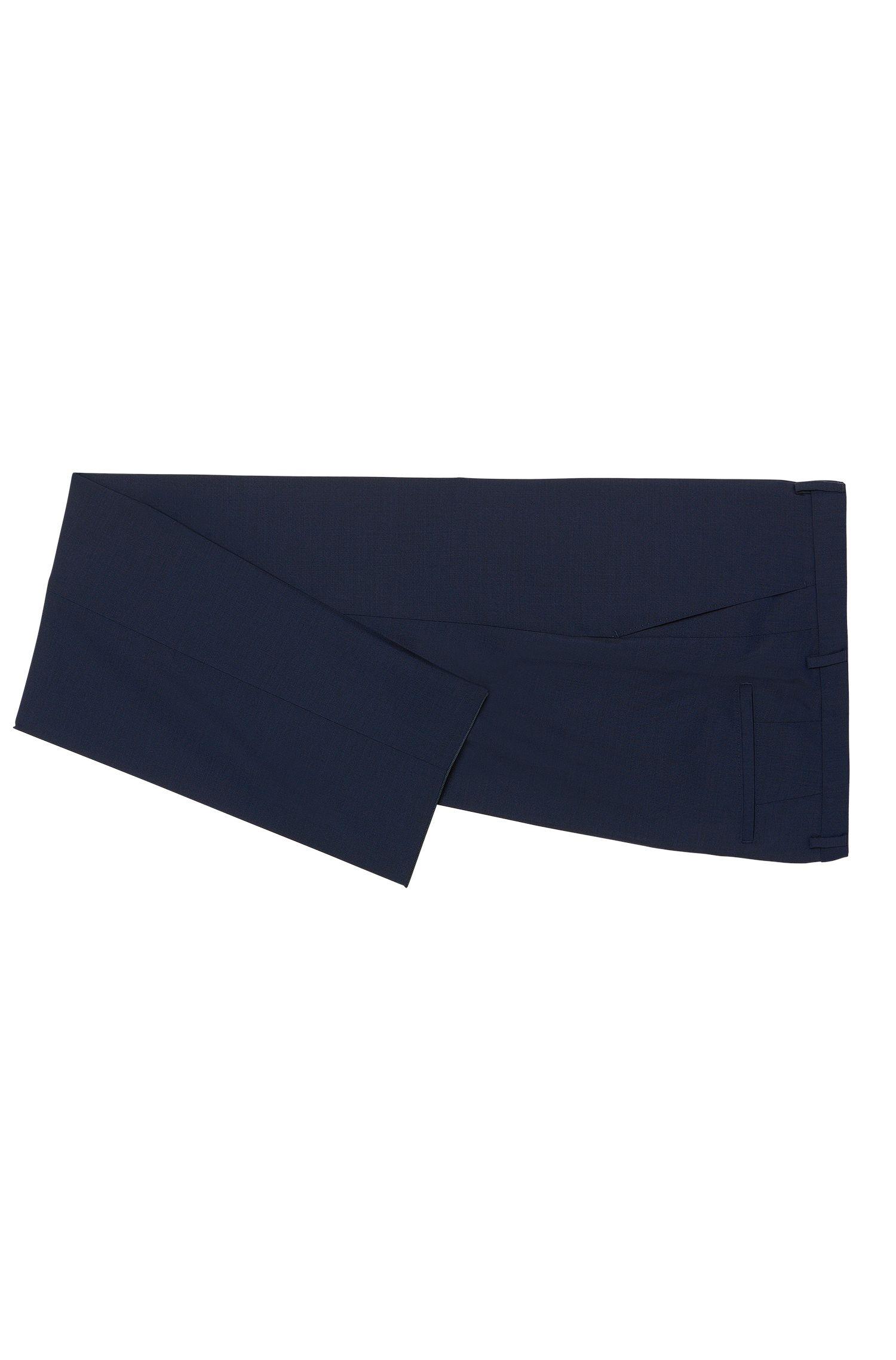 Costume Regular Fit en laine vierge , Bleu
