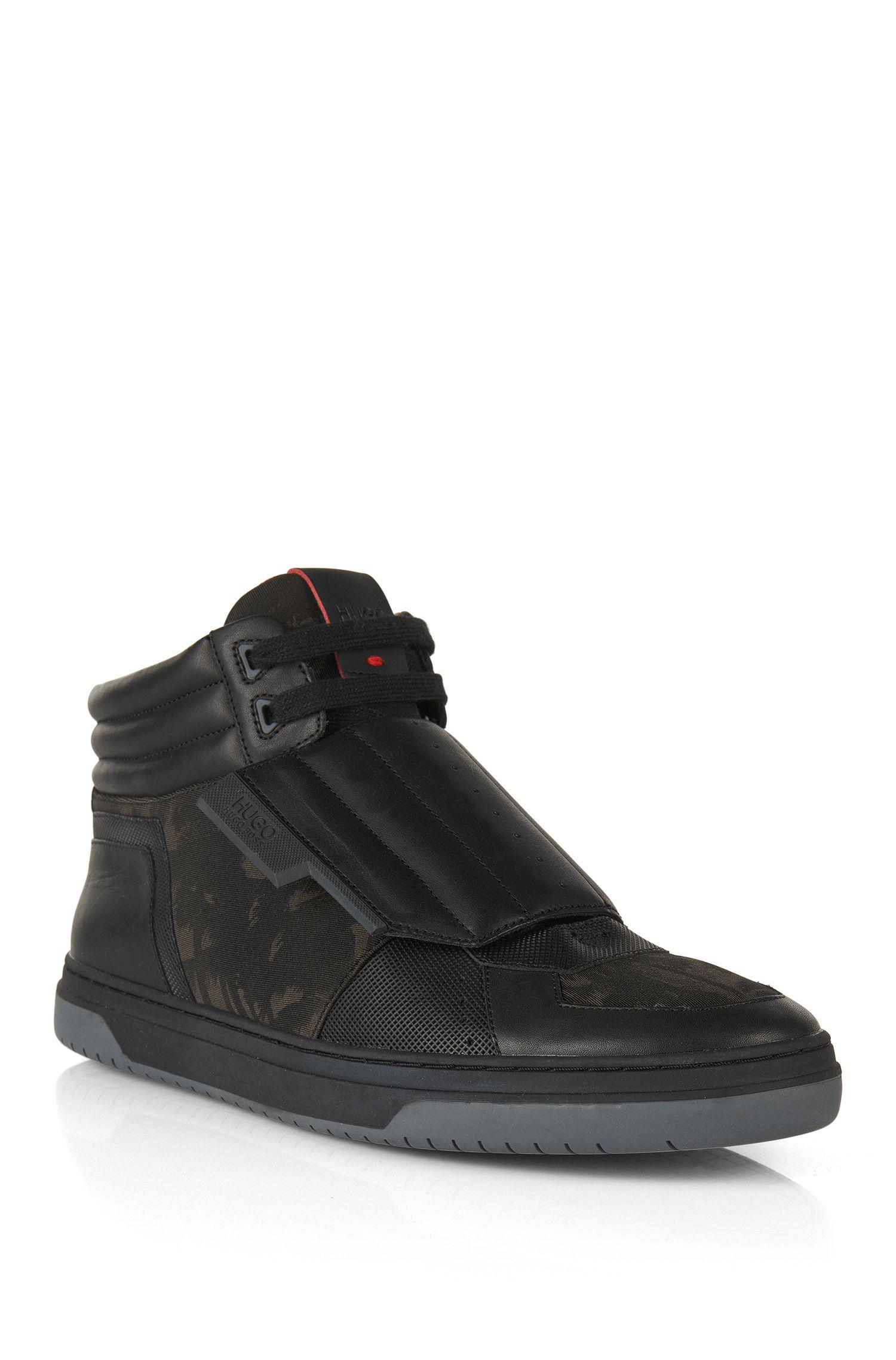 Knöchelhohe Sneakers mit Lederbesatz: 'Transk V'