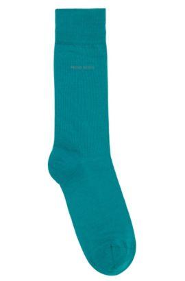 Socken aus gekämmter Stretch-Baumwolle, Grün