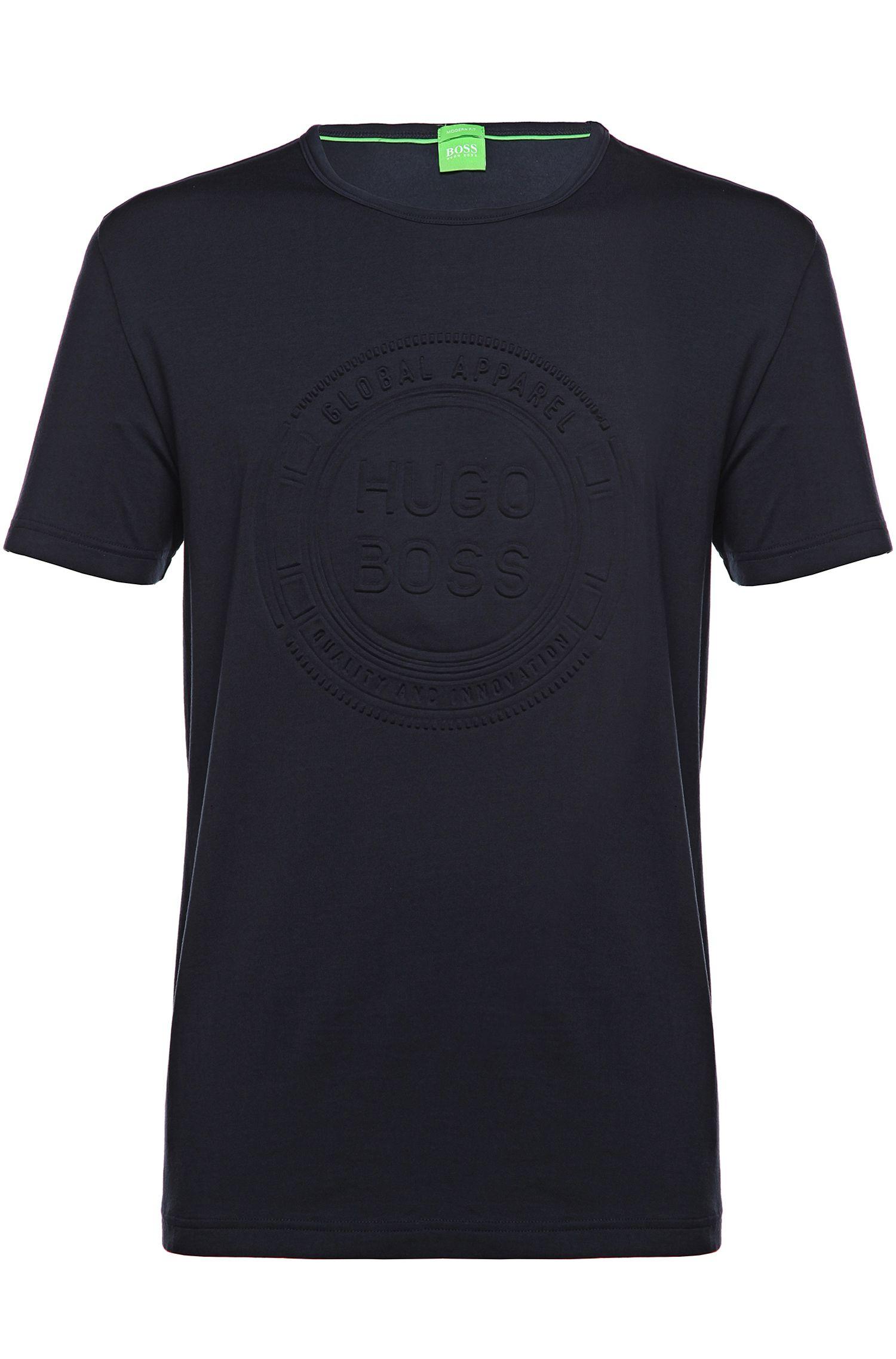 T-shirt van een katoenmix: 'Tee 8'