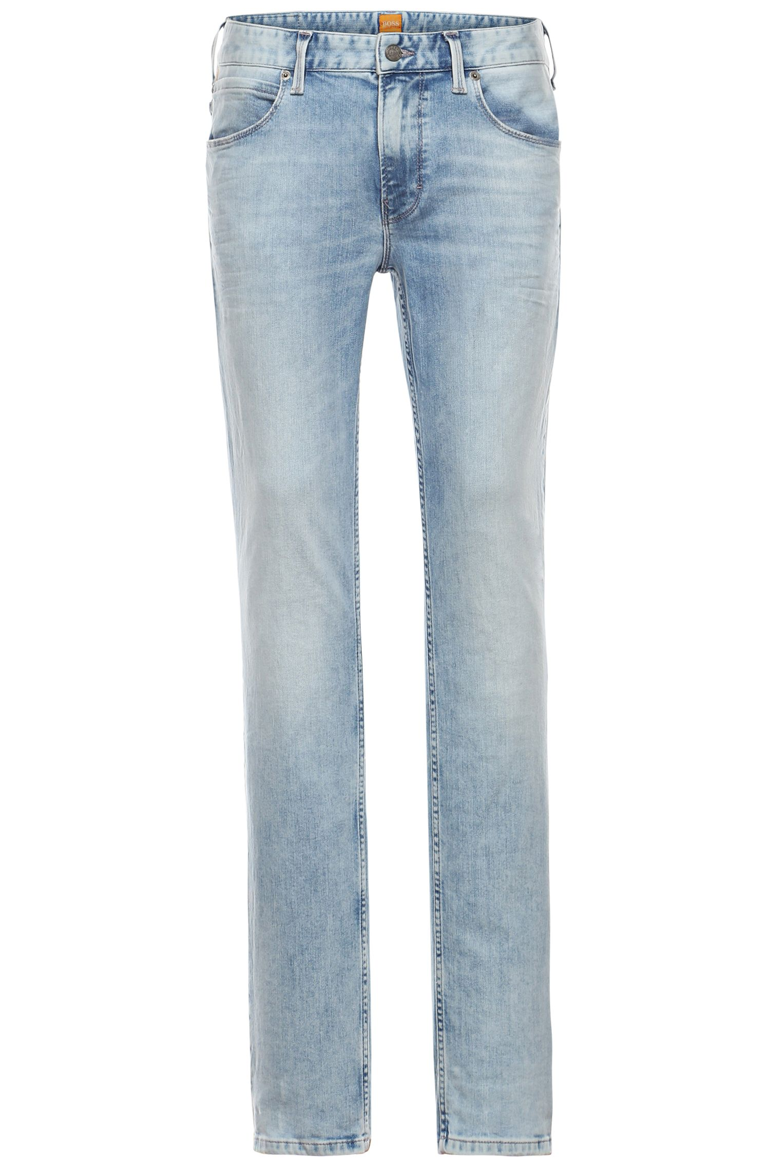 Slim-Fit Jeans in Used-Optik: ´Orange63`