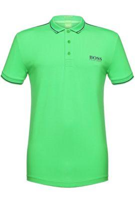 Slim-Fit Polo aus Funktionstextil: ´Paule Pro`, Grün