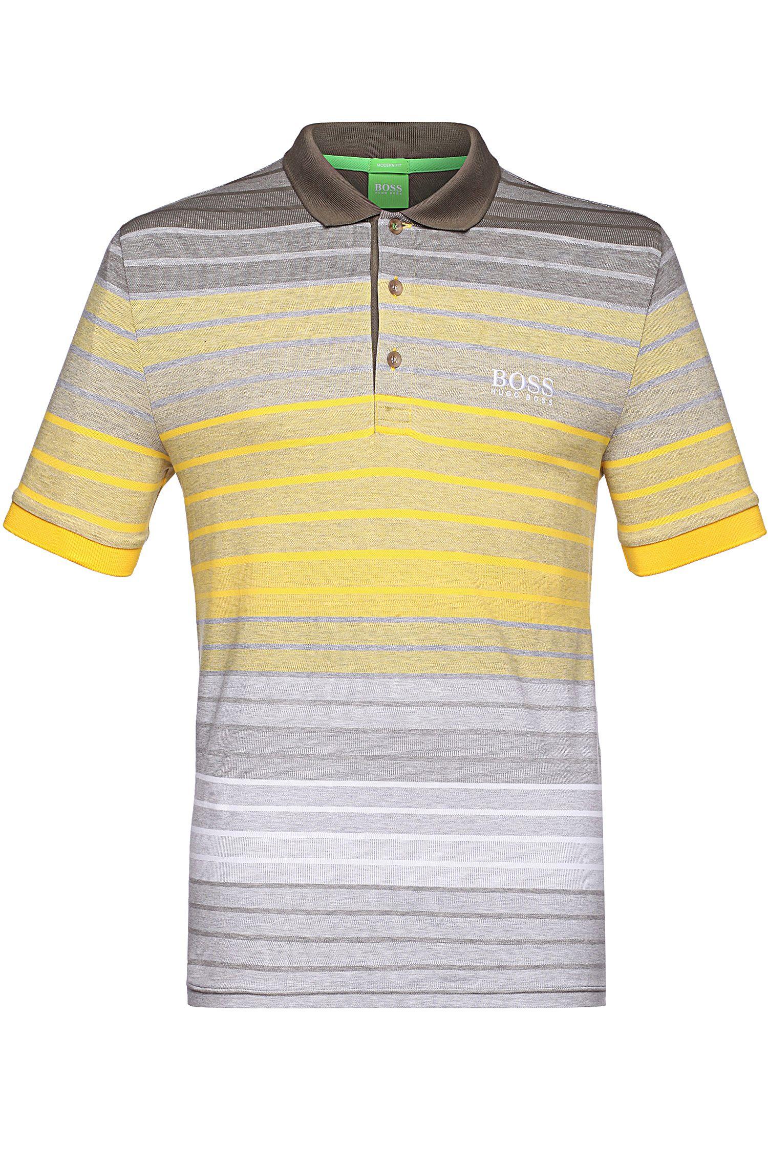 Polo Regular Fit en coton mélangé: «Paddy Pro1»