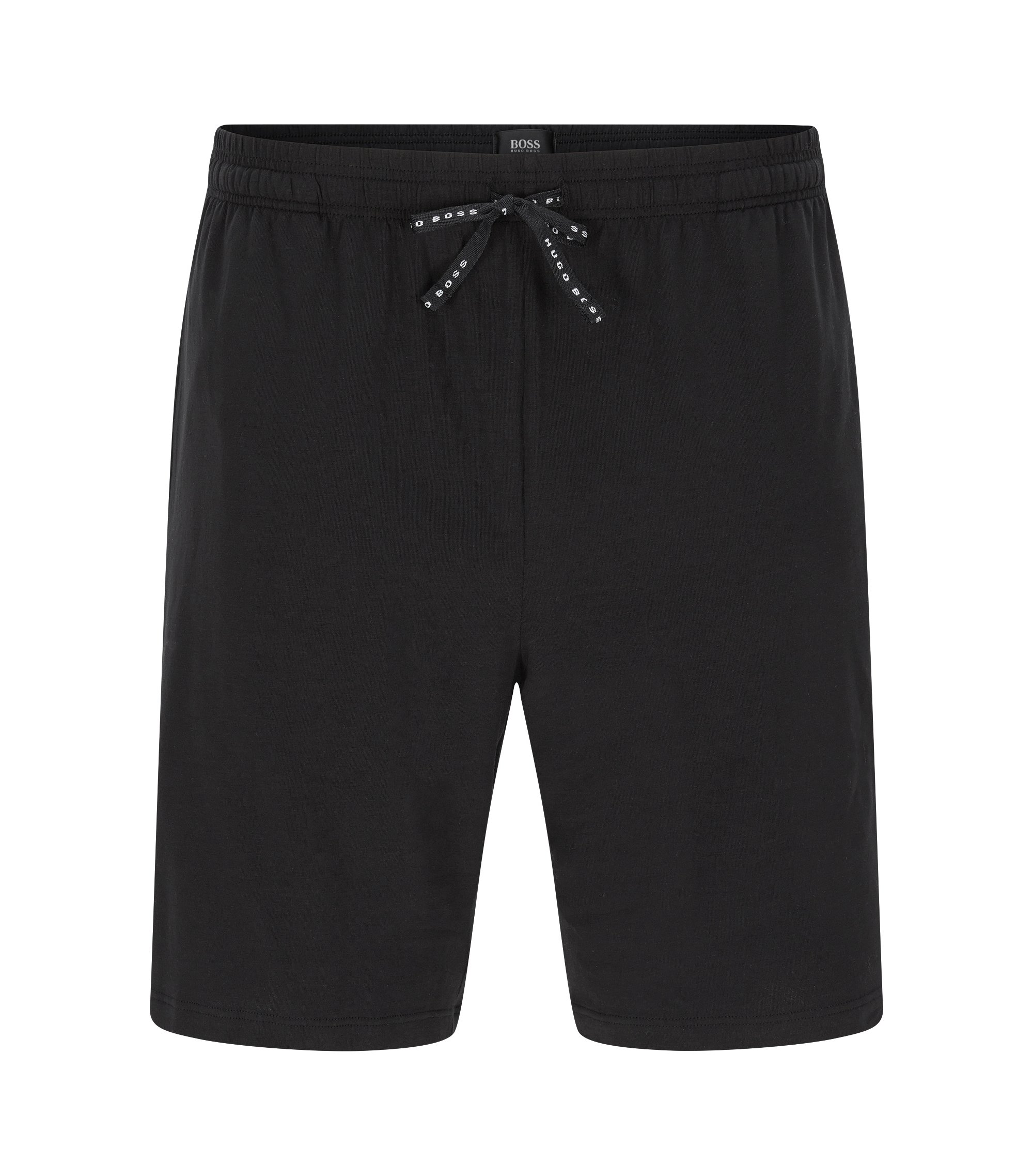 Shorts in stretch cotton: 'Short Pant CV', Black