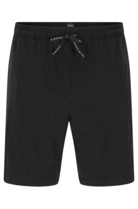 Pantaloncini corti in cotone elasticizzato: 'Short Pant CV', Nero