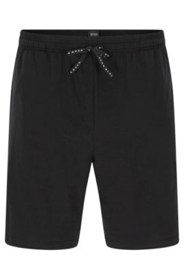 Boxer en coton stretch: «Short Pant CV», Noir