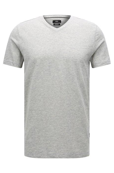 BOSS - Camiseta regular fit en algodón mercerizado cc61892ecfc