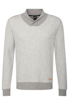 Sweatshirt van een katoenmix: 'Sweatshirt', Grijs