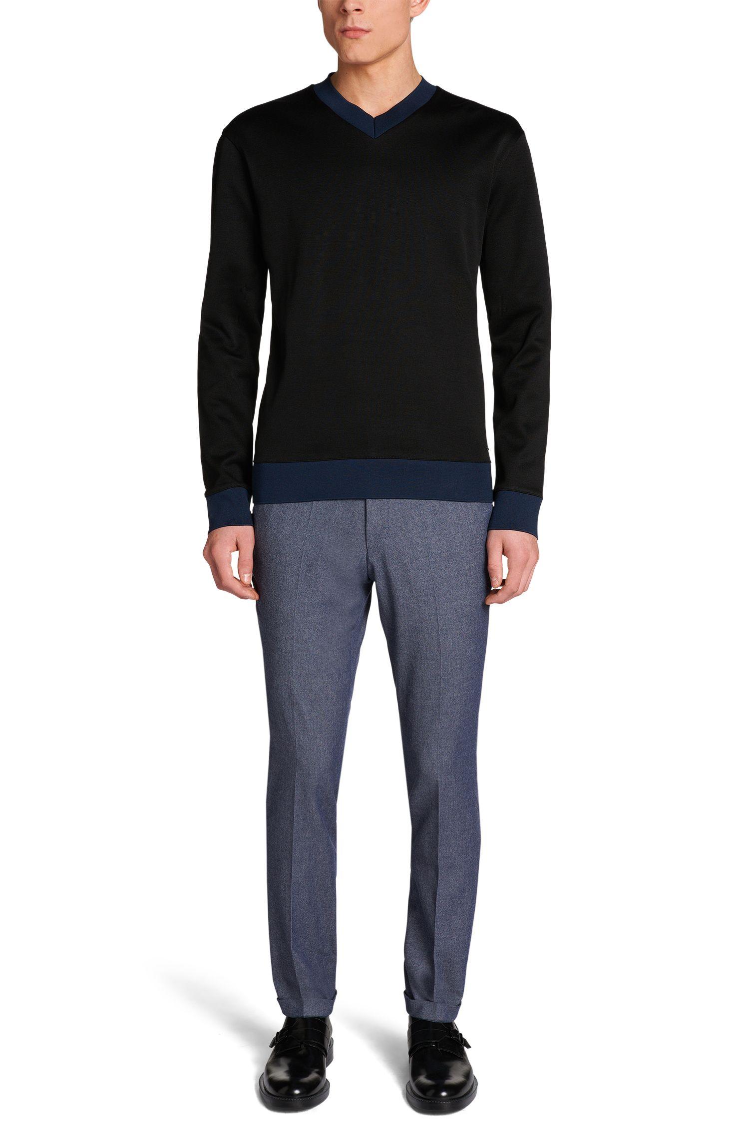 Loose-Fit Pullover aus Baumwolle: 'Dipswich'