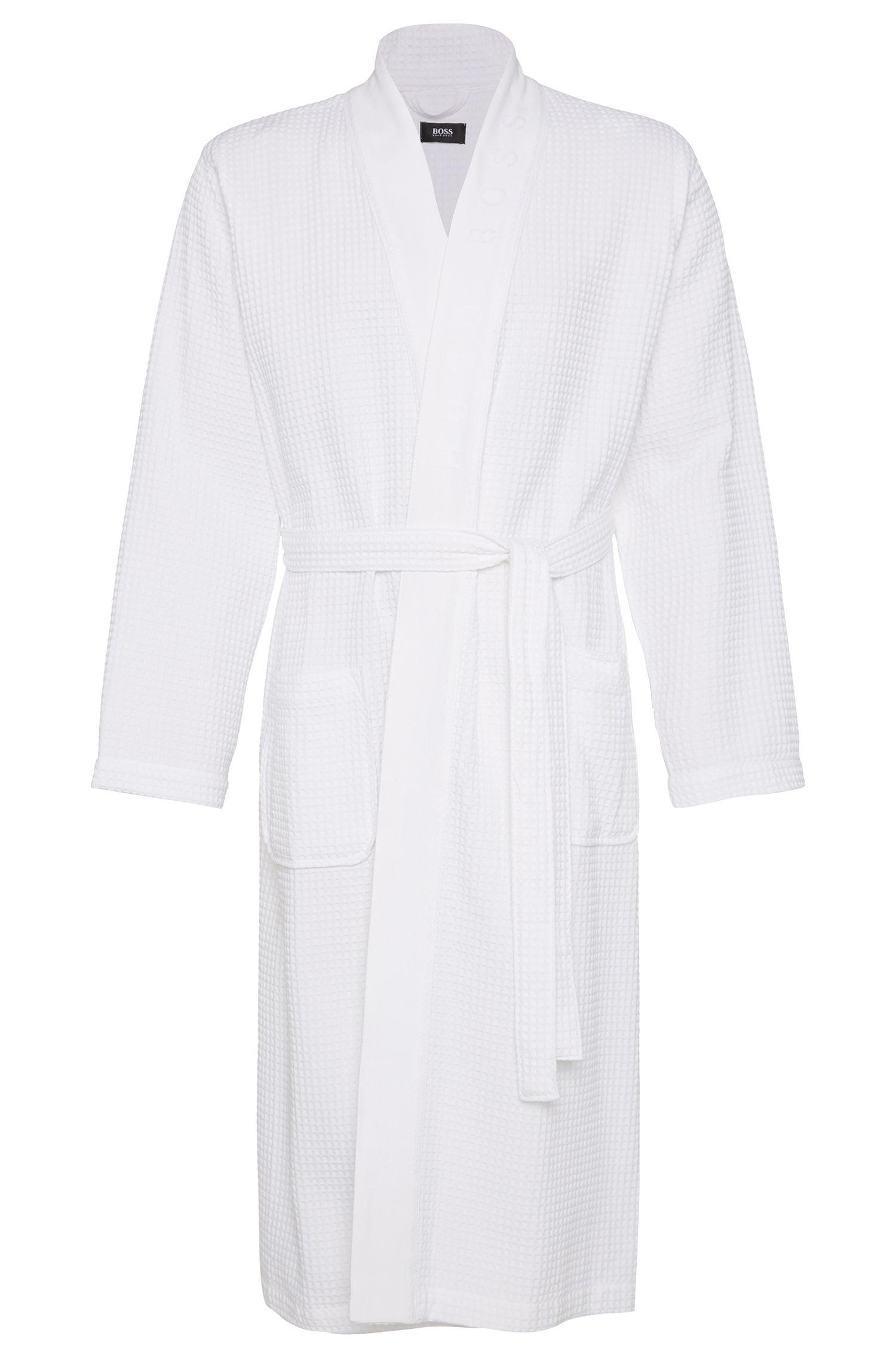 Badjas van een katoenmix: 'Kimono'