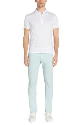 Regular-Fit Poloshirt aus Baumwolle: 'Pressler 50', Weiß