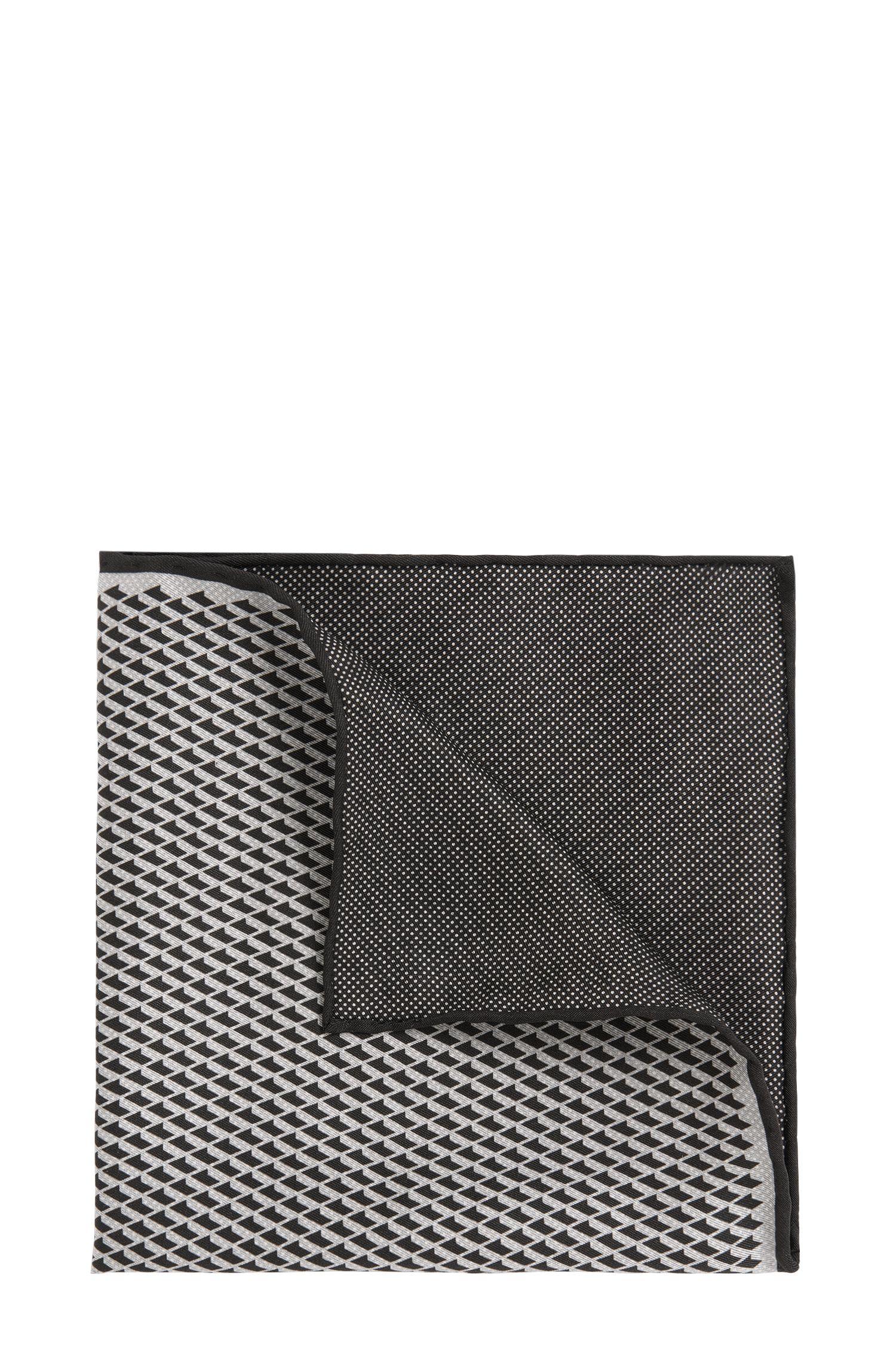 Einstecktuch aus Seide im Muster-Mix: 'T-Pocket sq. Cm33x33'