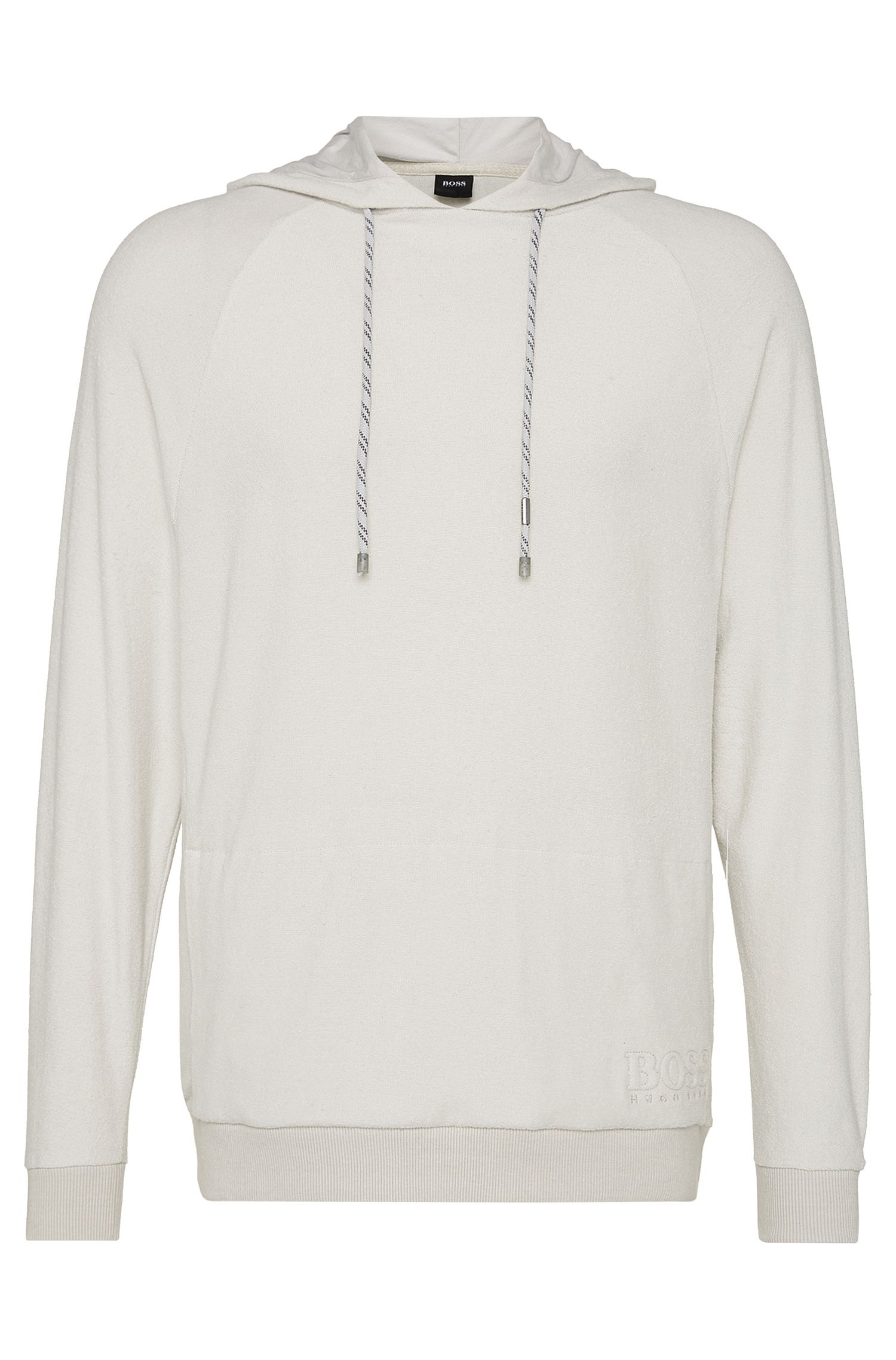 Sweat en coton : « Shirt Hooded LS »