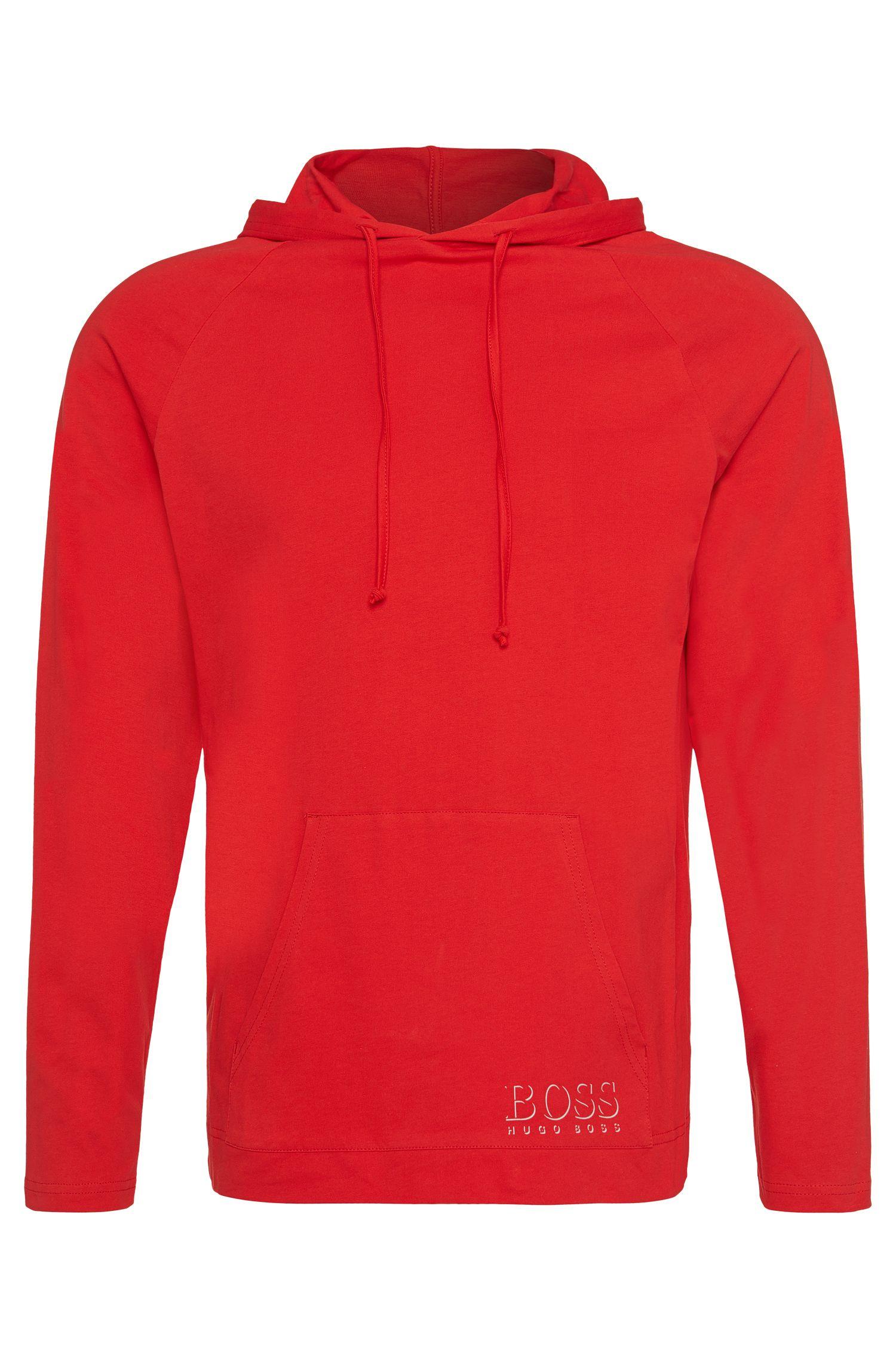 Kapuzen-Longsleeve aus Baumwolle: 'Shirt Hooded LS'