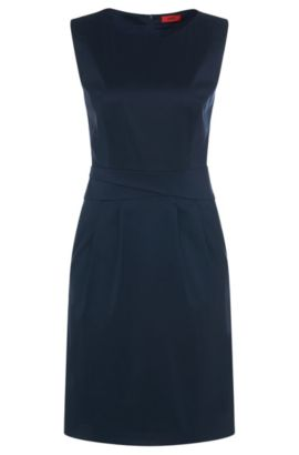 Ärmelloses Kleid aus Baumwoll-Mix: 'Kaliles-4', Hellblau