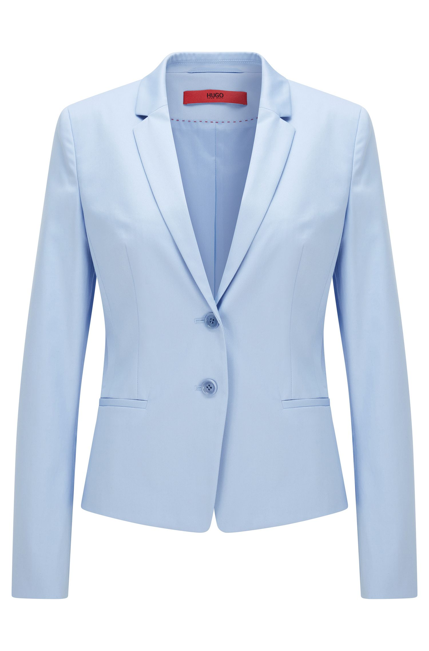 Taillierter Blazer aus Stretch-Baumwolle: 'Afrona'