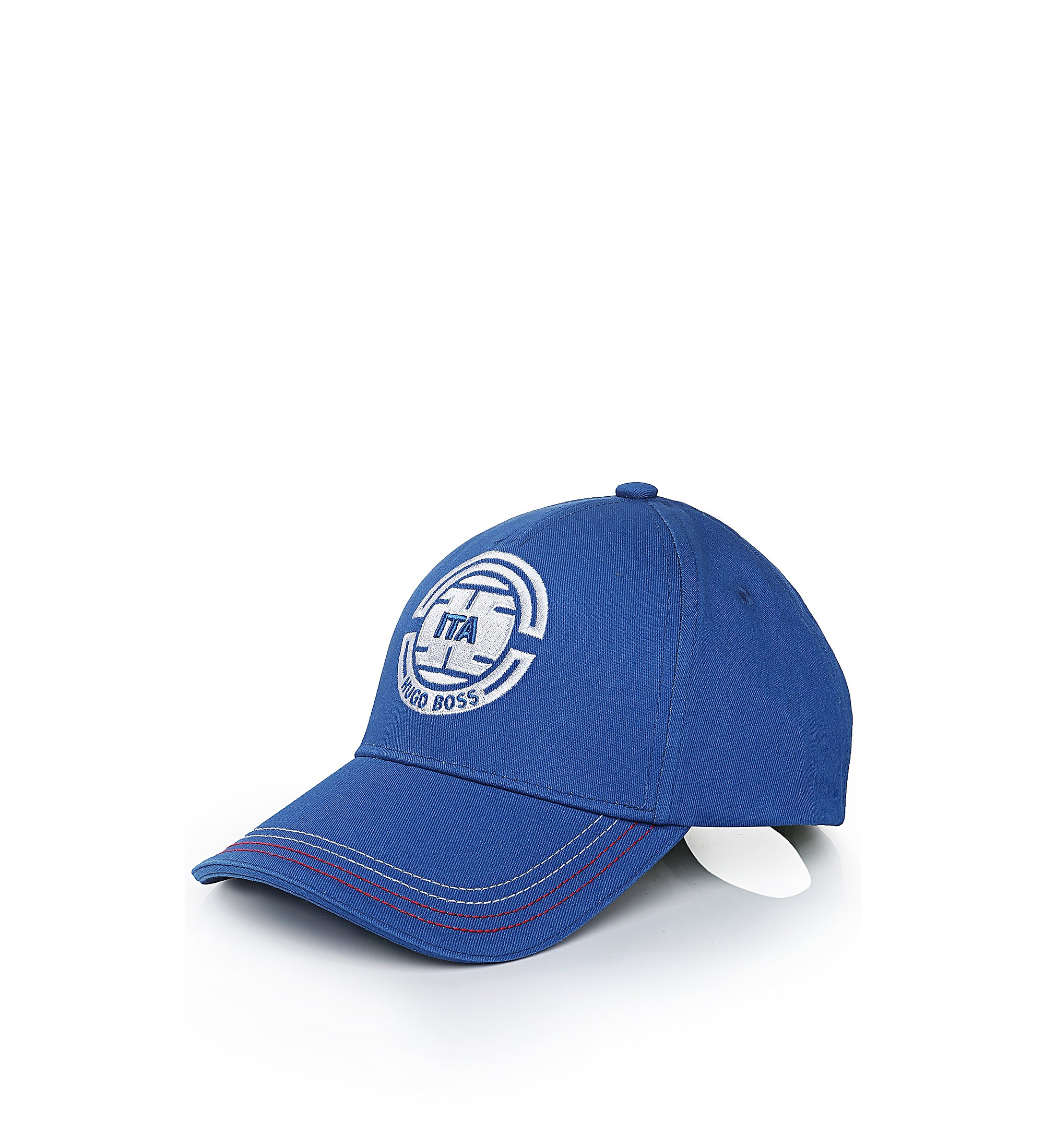 Casquette de base-ball à surpiqûres: «Cap Flag 2», Bleu