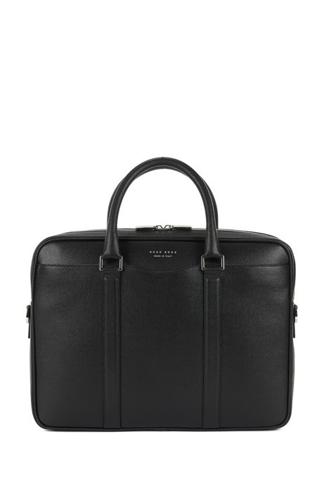 HUGO BOSS Signature Collection bag in palmellato leather Great Deals Sale Online klYTFa6