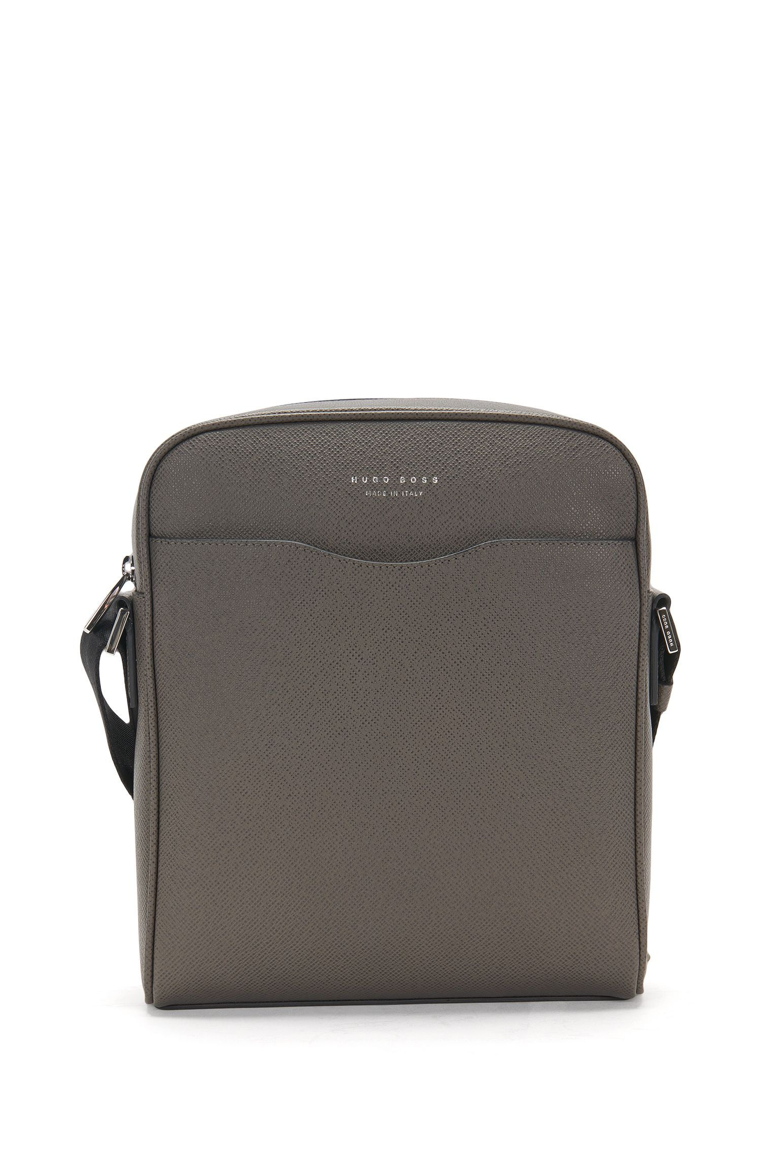 Sac reporter de la collection Signature en cuir palmellato