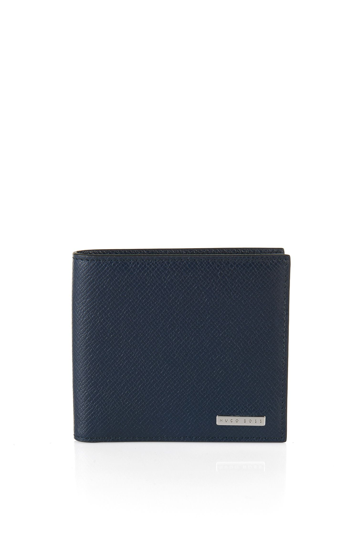 Signature Collection Geldbörse aus Palmellato-Leder , Dunkelblau