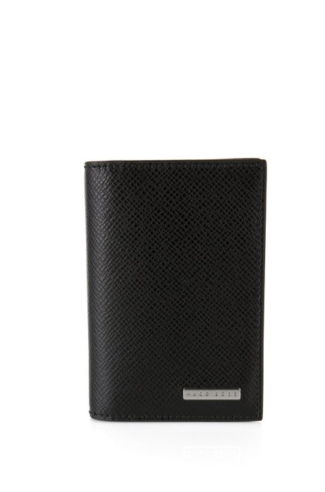 1d134c42c04ce Boss Signature Collection Small Folding Wallet In Palmellato Leather
